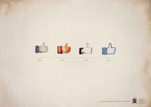Timeline of the Facebook Like Button