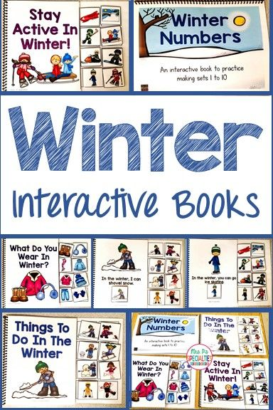 Teach students about winter while targeting attending skills, matching, labeling, verbs, counting and more!! Students LOVE these books so they stay engaged in your lesson. These adapted books are perfect for special eduation classes, speech therapy and students with autism.