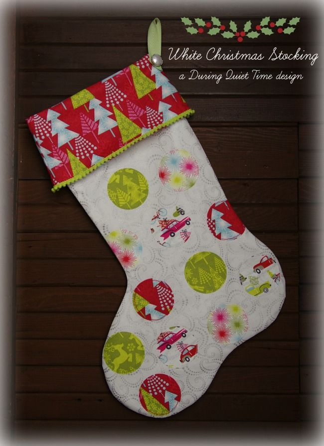 Awesome Free Printable Christmas Stocking Sewing Patterns ...