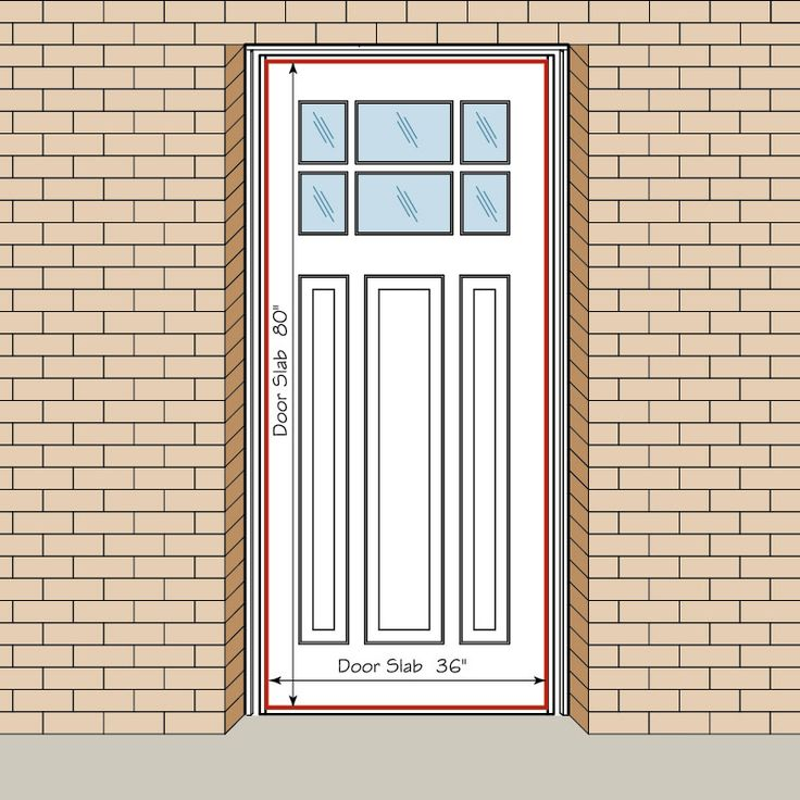 Entry door slab size how to measure your front entry