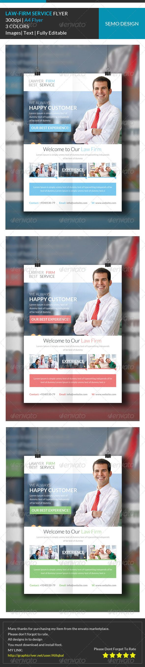 17 best images about print templates fonts invoice lawyer firm corporate flyer template