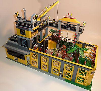 LEGO INSTRUCTIONS to build a Dino Raptor/Velociraptor Paddock Dinosaur Park/Zoo