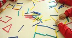 Atividade Palito de Picolé colorido é uma ótima maneira de trabalhar em habilidades matemáticas na escola, e com profissional de Terapia O...