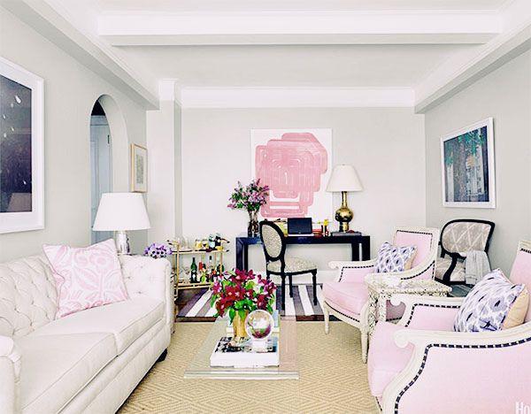 1000+ Bilder zu Rooms auf Pinterest Studio Apartments, Stühle und - wohnzimmer grau rosa