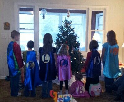 A cape for each grandchild