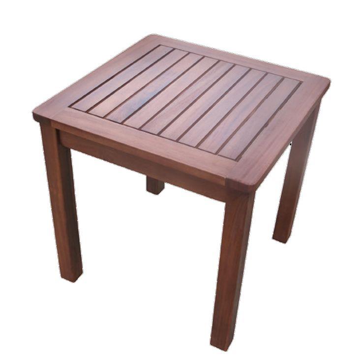 Lugano garden coffee table acacia 45x45x45