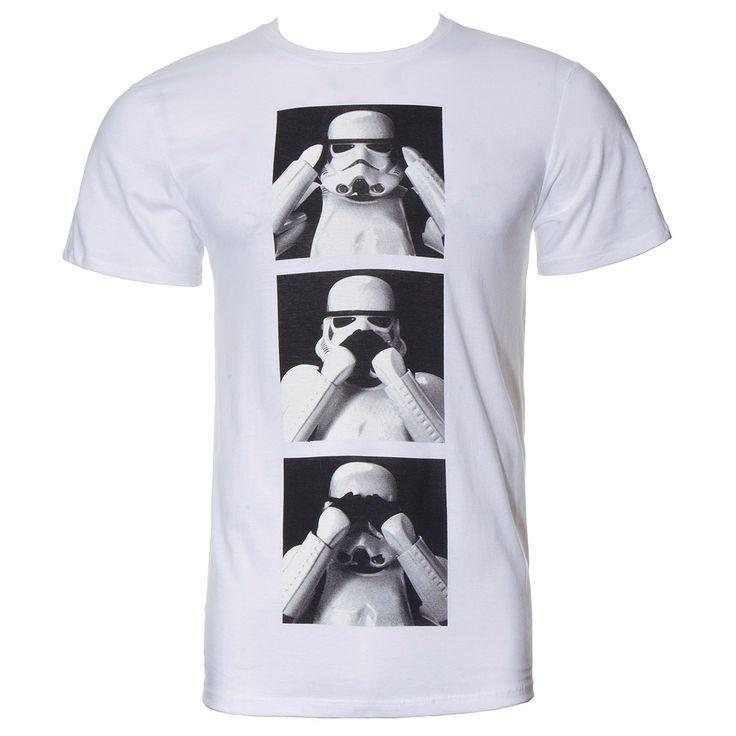 Star Wars Three Trooper T Shirt (White)