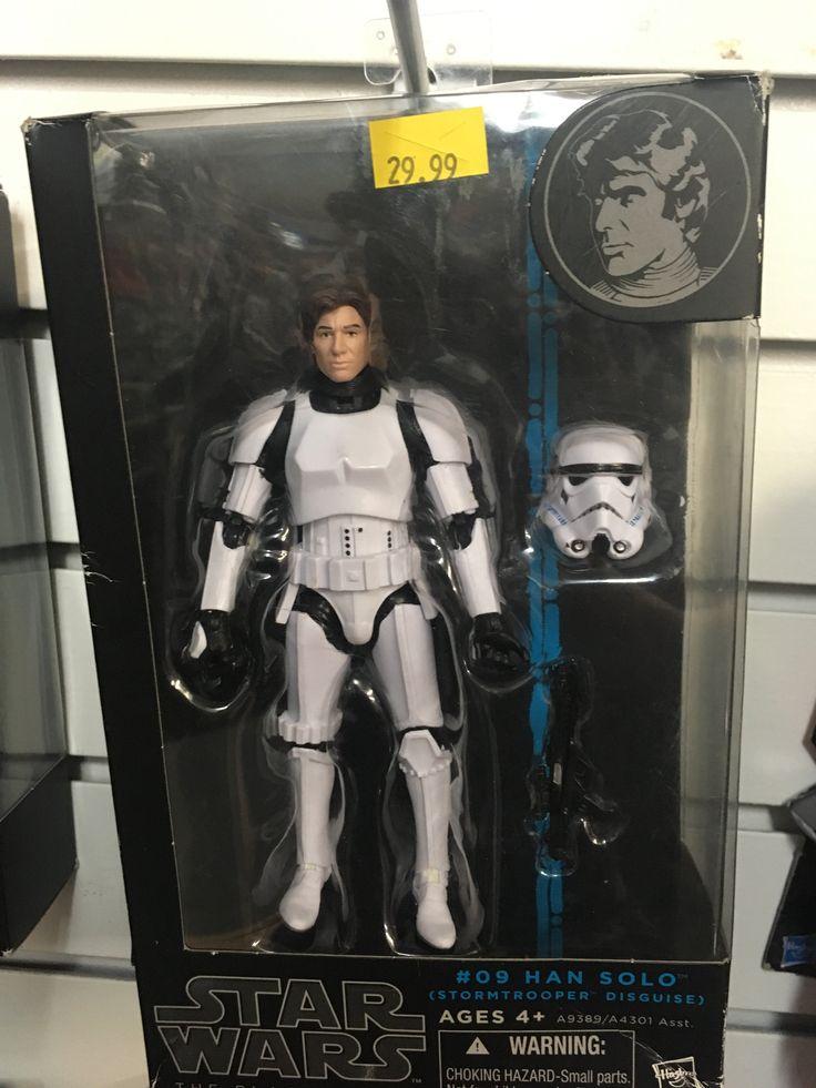 Star Wars Black Series Han Solo (Stormtrooper Disguise)