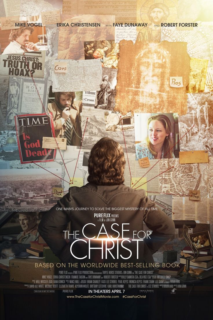 Have you seen the case for christ trailer at the movies now the poster