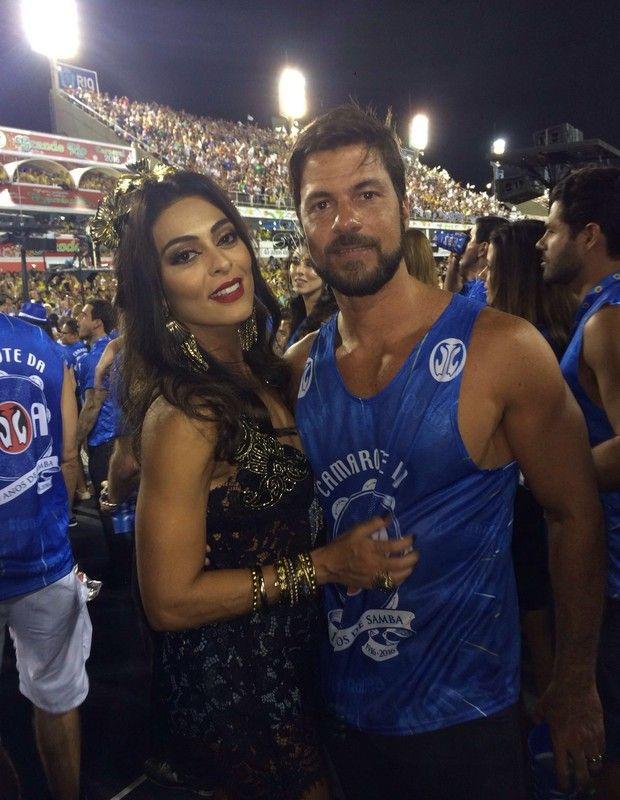 A atriz Juliana Paes e o marido Carlos Eduardo Baptista (Foto: Acyr Méra Junior/Época)