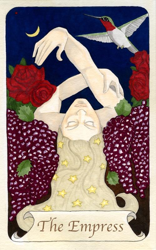 by kjmillar: Tarot Card #3 The Empress  http://kristimillar.blogspot.ca