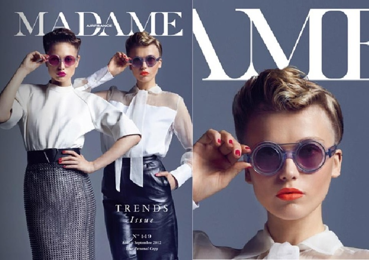 Cover of Air France Madame this summer 2012