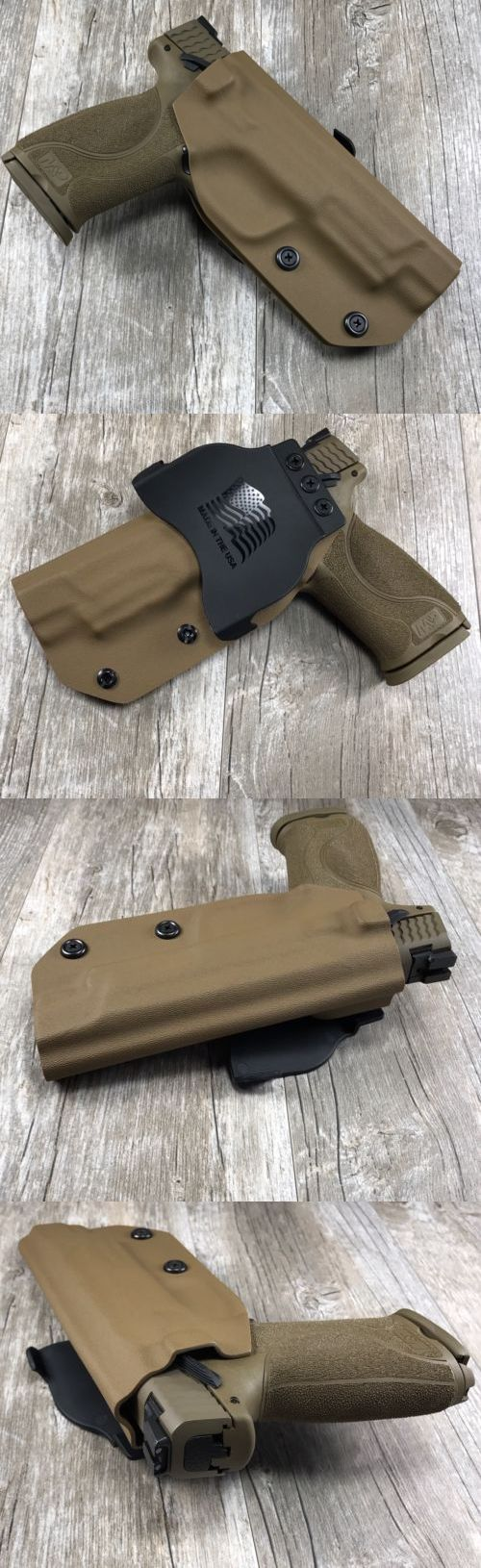 Holsters 177885: Owb Paddle Holster Smith And Wesson Mandp 9 40 And M2.0 5 Kydex Retention Conceal -> BUY IT NOW ONLY: $45.95 on eBay!