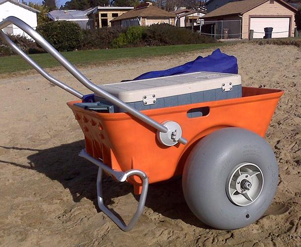Beach Cart by Wheeleez™ Humpalumpa Utility Cart [WZ1-BC] - £255.30 : Humpalumpa Carts Trolleys and Balloon Wheels