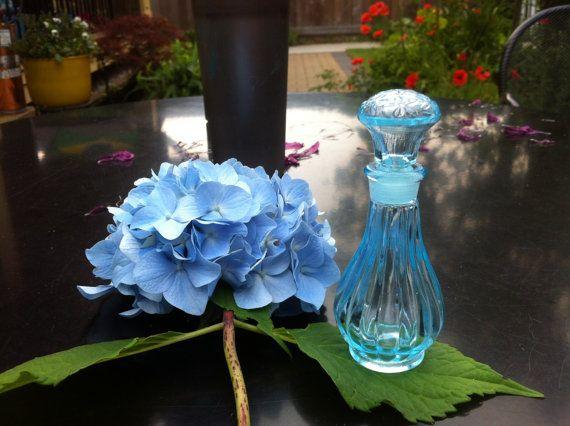 Baby Perfume Blue Perfume Handmade Perfume by PurpleBirdPerfumes