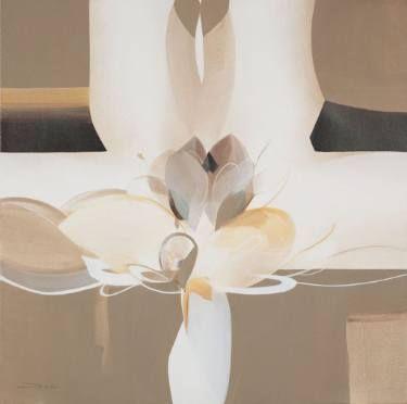 "Saatchi Art Artist Danilo Rojas; Painting, ""ANANDA"" #danilorojas #danilorojasart #mysignatureOneDot #painter #contemporaryart #artist #art #arte #artecontemporaneo #silence"