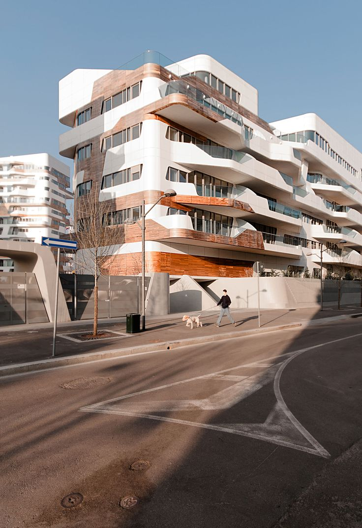 CityLife Residences, Fiera Milano, Milan, Italy designed by Zaha Hadid Architects
