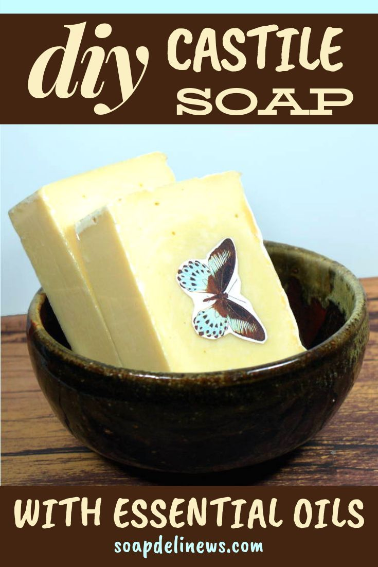 Traditional Castile Soap Recipe   – Soap Deli News Blog : Homemade Soap Recipes + Natural Skin Care + Lifestyle DIY's