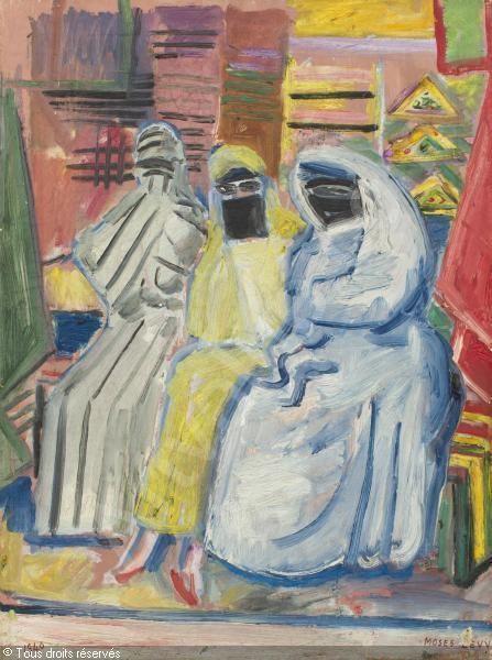 LÉVY Moses, 1885-1968 (France) Titre : DONNE ARABE  Date : 1940   Categorie : Peintures Média :   : Oil on canvas   : Olio su tela © Artvalue.com