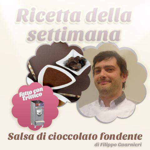 La ricetta della settimana: #SALSA DI #CIOCCOLATO FONDENTE di #FilippoGuarnieri, realizzata con cioccolato e cacao, da variegare poi con granella di nocciola. Nonostante tutte le uova pasquali mangiate... non siamo mai stanchi del #cioccolato!  https://www.facebook.com/BRAVOSPA/photos/a.218288168188180.66026.160418363975161/850655798284744/?type=1&theater