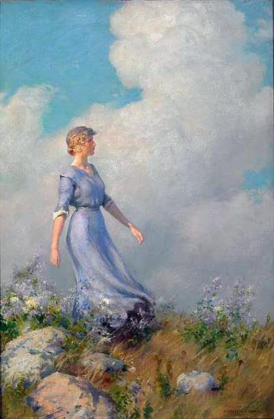 Charles Courtney Curran (1861 – 1942) - Billows