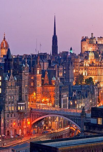 Edinburgh, Scotland. Thought I pinned this this morning but it didn't take apparently. Technology. Whayagonnado? ;)