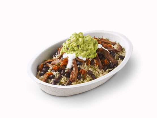 Not in the mood for a tortilla? Don't worry, that's what our bowls are for.