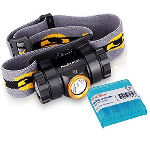 Amazon.com: Fenix HM50R 500 Lumens Multi-Purpose Compact LED Headlamp Flashlight & 16340 Battery PLUS LumenTac Battery Organizer: Sports & Outdoors