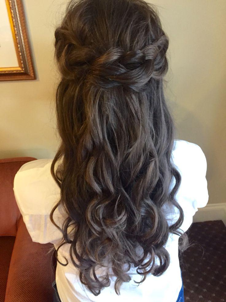 #wedding #bride #bridesmaids #hair #updo #BOHO