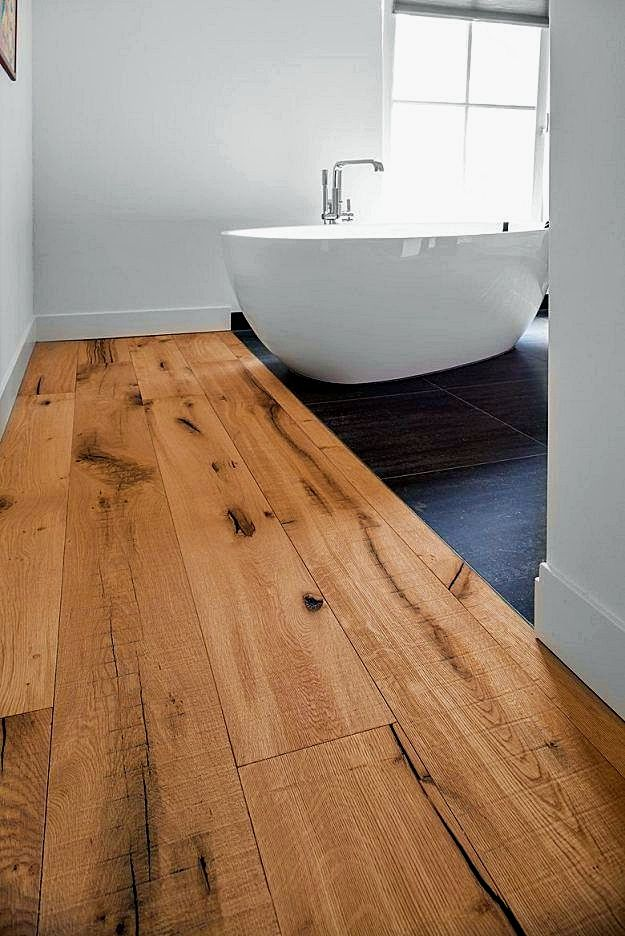 How To Decorate Large Bathroom Spaces Engineered Wood Floors Engineered Oak Flooring Wood Floor Bathroom