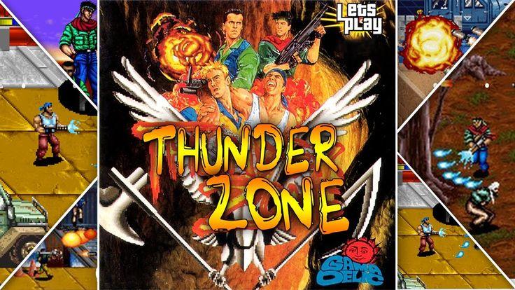 Thunder Zone|Data East|Walkthrough|Longplay|HD