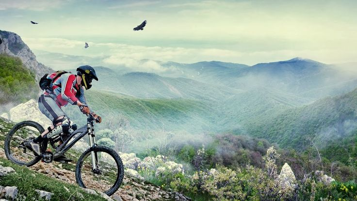 Mountain biking is one of the most exiting sports in the world! Regardless of which of the four main disciplines (downhill, four cross, cross-country and trailquest) you undertake. It tests your reactions, skill and stamina!