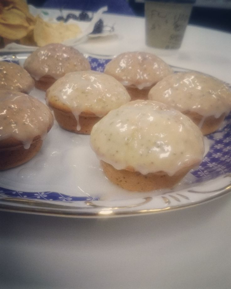 Thermomix Lemon & Poppy Seed Muffins