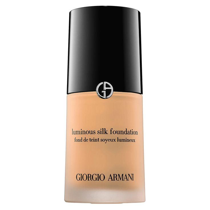These Are the Foundations Kim Kardashian Keeps in Her Makeup Kit - Giorgio Armani Luminous Silk Foundation from InStyle.com