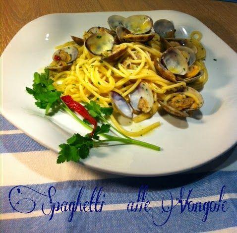 Cucinando tra le nuvole: Spaghetti alle vongole