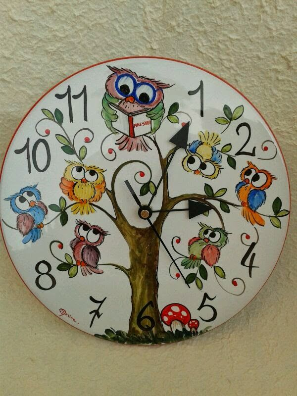 ceramica come mestiere: OROLOGI