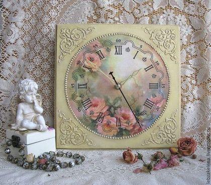 Часы для дома ручной работы. Ярмарка Мастеров - ручная работа Часы настенные. Handmade.