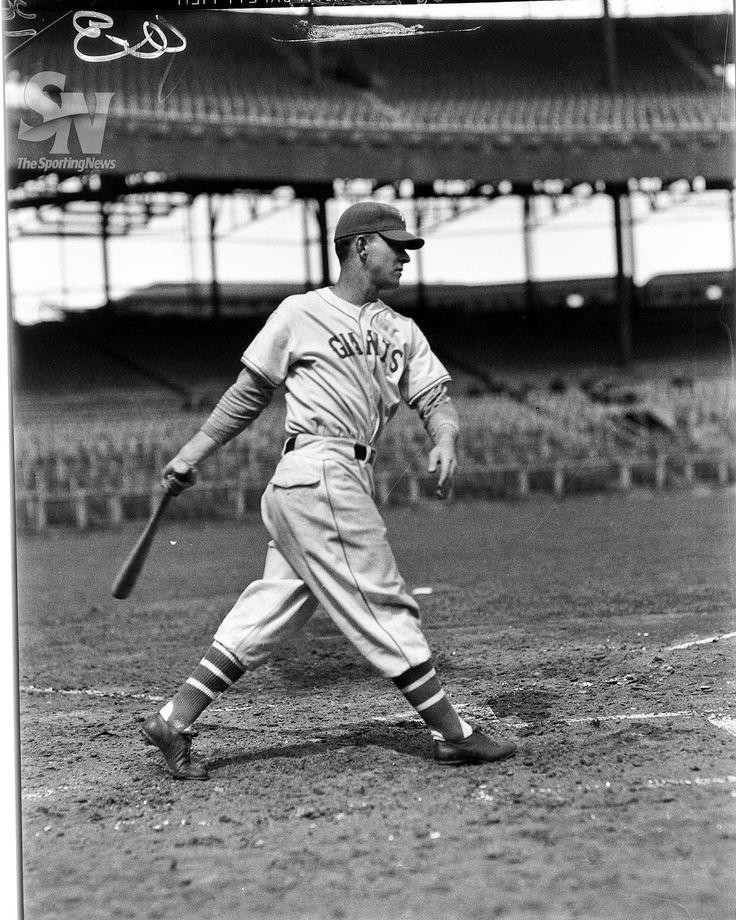 Aug. 1, 1945 Mel Ott hit his 500th career home run. New York Giants Melvin T. (Mel) Ott in 1936 (Charles M. Conlon/Sporting News Archives) MORE HISTORIC CHARLES M. CONLON PHOTOS HERE