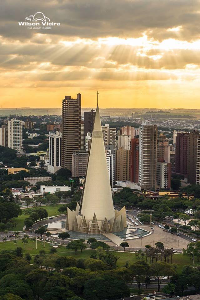 Maringá (Centro/Catedral), por Wilson Vieira. #Maringá #Paraná #Brasil #Brazil
