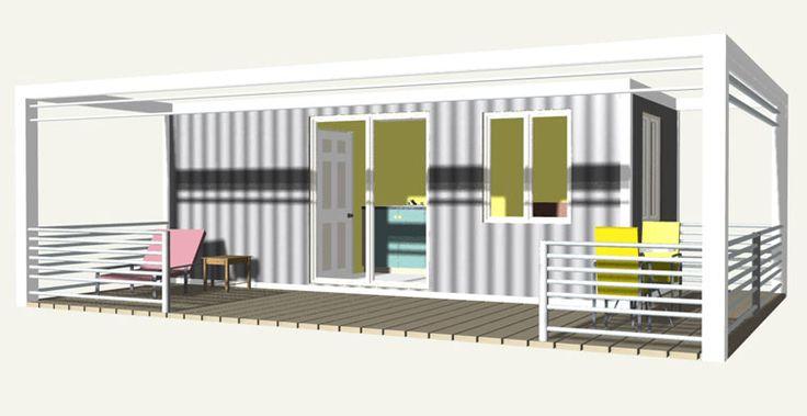 Les 47 meilleures images du tableau chalet maison sur for Maison container 59