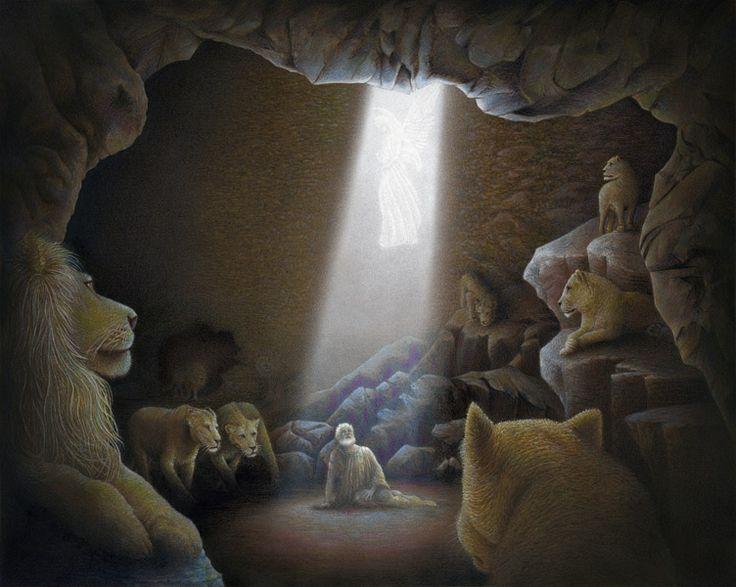 Image result for daniel angel lion's den photo