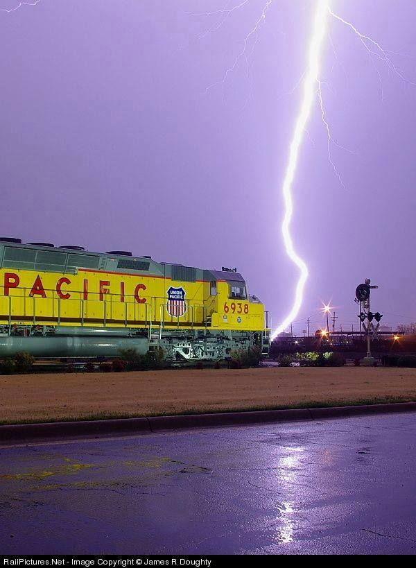 Museu Ferroviário de San Diego modelo Union Pacific em Little Rock, Arkansas, por James R Doughty