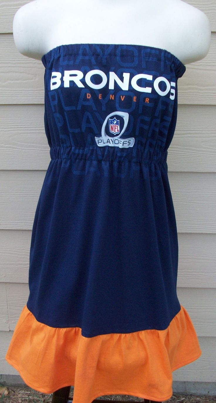 Denver Broncos Game Day Dress $55 this one two!!!!