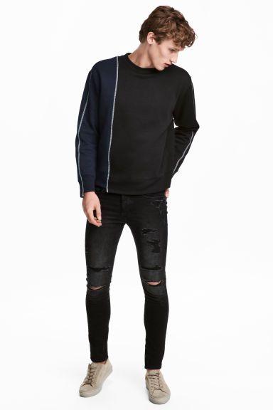 e7df6316993dbd Trashed Skinny Jeans   For Him   Ripped jeans men, Jeans, Black ...