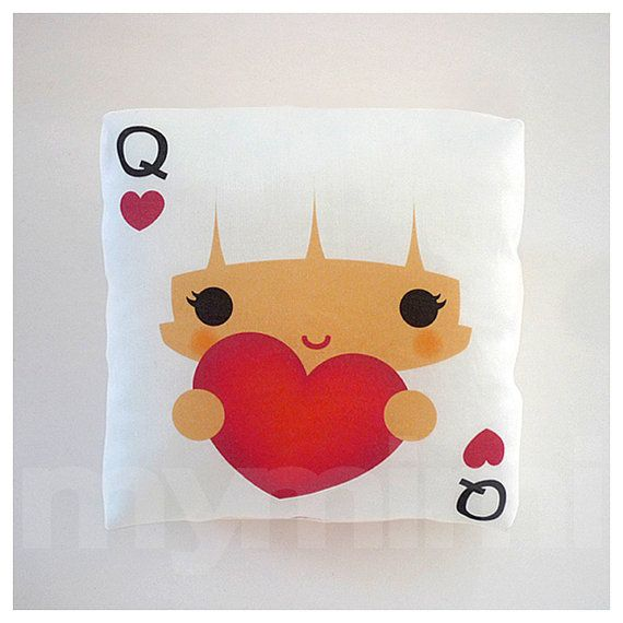 Decorative Pillow Mini Pillow Kawaii Toy Pillow  Queen by mymimi