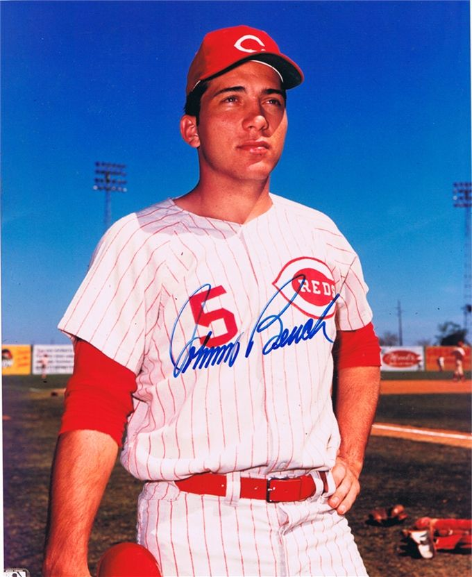 Was Johnny Bench Gay Part - 16: Johnny Bench...I Sat Next To Him On An Airplane.