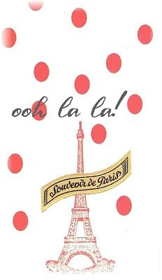 Oui Oui! Paris Paree! hammocking, travel, france, eiffel, wanderlust, polka dot
