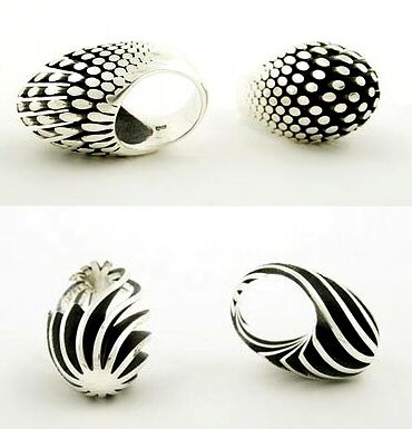 These are awesome rings, but definitely want to take them off before putting on lotion or making the meatloaf!  Rings | Sarah Herriot.  Sterling Silver