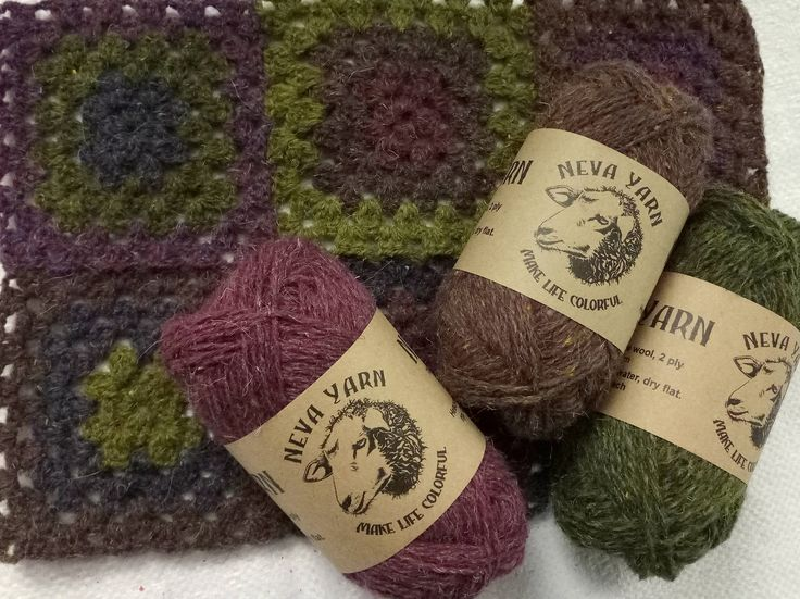 Hand Dyed Pure 100% WOOL YARN TRIO set of yarn 3x50g Great for jumper, hats, socks and scarfs Nice gift for mothers and knitting lovers A26 from NevaYarn on Etsy Studio