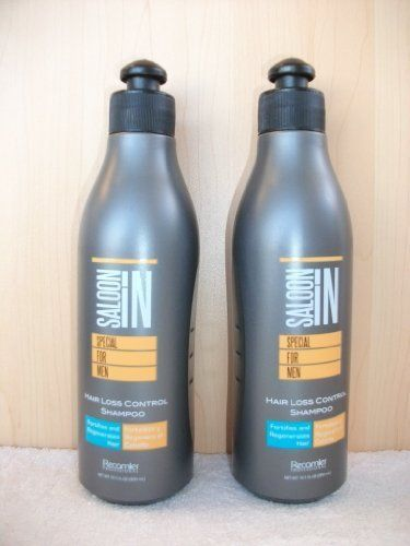 Saloon in Special for Men Hair Loss Control Shampoo 10.1 Oz. X2 by RECAMIER PROF
